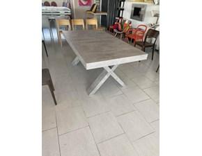 Tavolo rettangolare in legno Tavolo maxi pronta consegna  cemento Md work in Offerta Outlet
