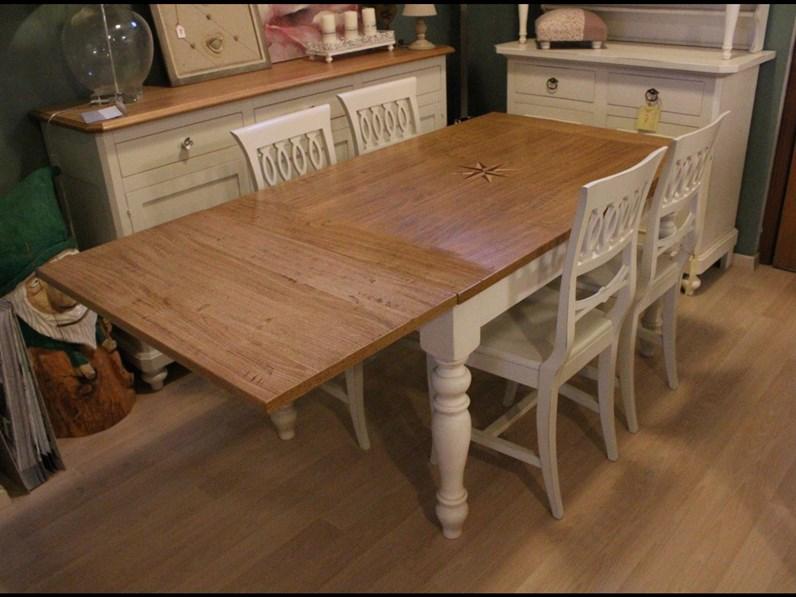 Tavolo rettangolare in legno Tavolo rovere allungabile tutte le ...