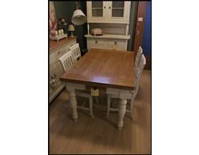 Tavolo rettangolare in legno Tavolo rovere allungabile tutte le misure Pantera lucchese in Offerta Outlet