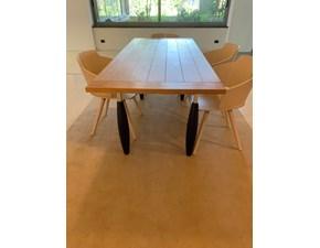 Tavolo rettangolare in legno Tellaro Schiffini in Offerta Outlet