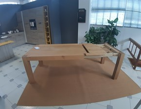 Tavolo rettangolare in legno Tola Point house in Offerta Outlet