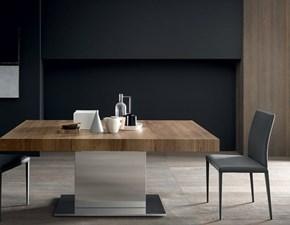 Tavolo rettangolare in legno Tower maxi Altacom in Offerta Outlet