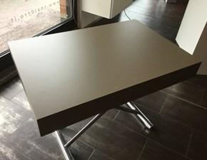 Tavolo rettangolare in legno Trasformabile Artigianale in Offerta Outlet