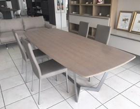 Tavolo rettangolare in legno Virgo Misuraemme in Offerta Outlet