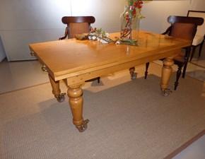 Tavolo rettangolare in legno Zic Artigianale in Offerta Outlet