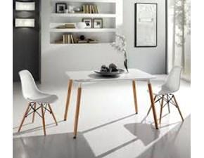 Tavolo rettangolare in metallo Allen +sedie Max home in Offerta Outlet