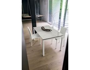 Tavolo rettangolare in metallo Biancospino Artigianale in Offerta Outlet