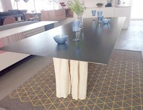Tavolo rettangolare in metallo Brick_33 Gervasoni in Offerta Outlet