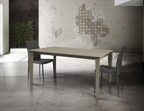 Tavolo rettangolare in vetro Art. occ017 Artigianale in Offerta Outlet
