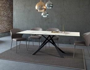 Tavolo rettangolare in vetro Diago easyline by ozzio Ozzio in Offerta Outlet