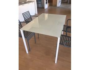 Tavolo rettangolare in vetro Fli Bonaldo in Offerta Outlet