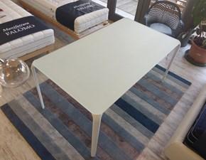 Tavolo rettangolare in vetro Light Tonin casa in Offerta Outlet
