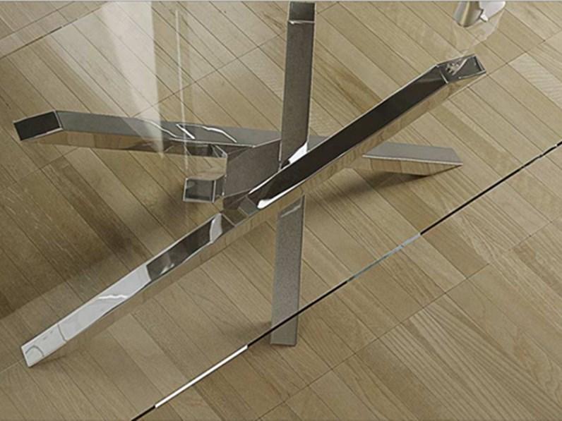 Tavolo rettangolare in vetro mod shangai riflessi in for Bolelli arredamenti