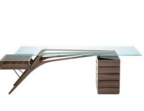 Tavolo rettangolare in vetro Zanotta cavour Zanotta in Offerta Outlet
