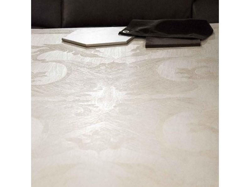 Tavolo rettangolare Marchetti FG576 in legno massello Patina Maestrale