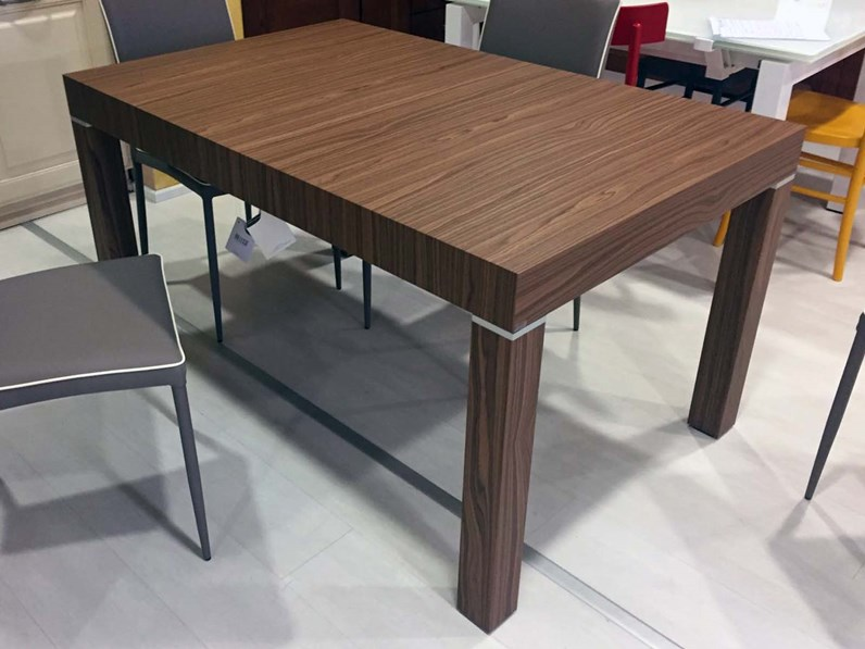 Riflessi tavolo club rettangolari allungabili legno for Tavoli rettangolari allungabili in legno