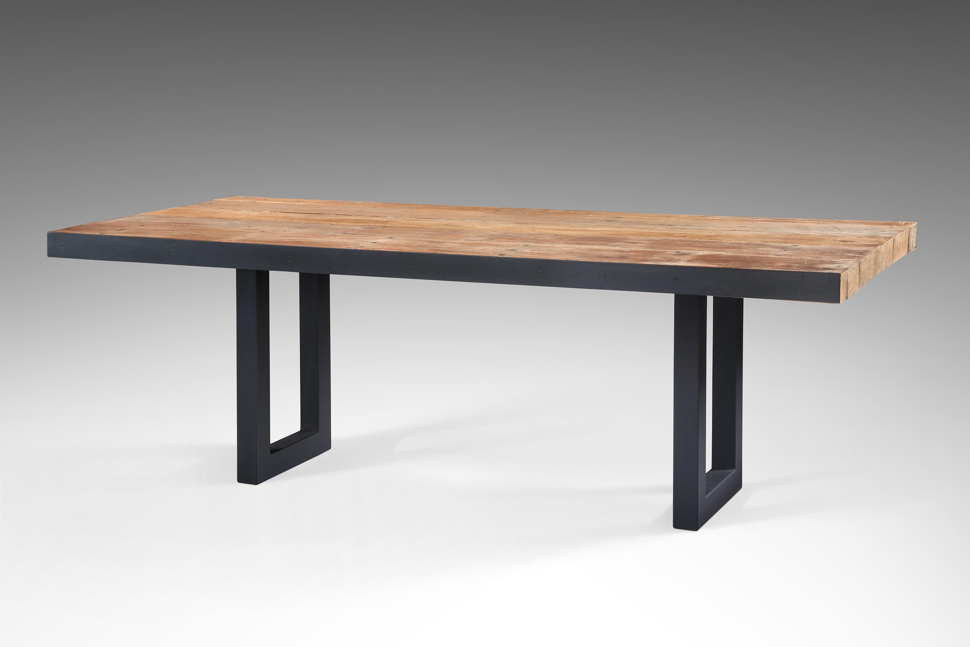 Tavolo rosasplendiani re006 tavolo legno di recupero - Tavoli in legno vecchio ...
