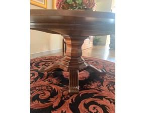 Tavolo rotondo allungabile Classico Arte brotto a prezzo scontato