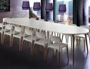 Tavolo rotondo allungabile Gotland La seggiola a prezzo ribassato