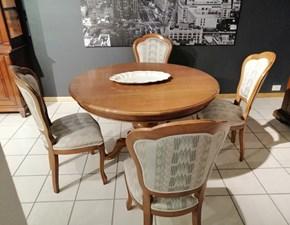 Tavolo rotondo allungabile Tavolo tondo - 4 sedie Tagliabue a prezzo ribassato