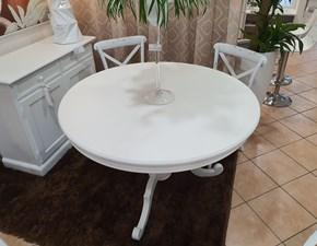 Tavolo rotondo allungabile Tondo Artigianale a prezzo scontato