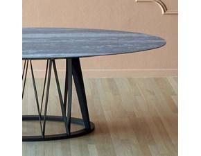 Tavolo rotondo con basamento centrale Acco Miniforms scontato