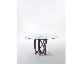 Tavolo rotondo con basamento centrale Infinity 150 Porada scontato