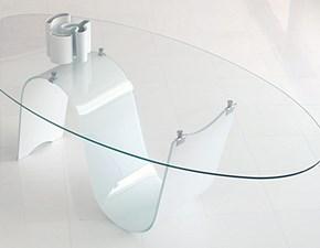 Tavolo rotondo con basamento centrale Infinity Unico italia scontato