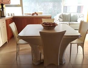 Tavolo rotondo con basamento centrale Luberon Conarte scontato