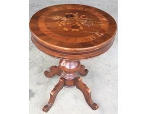 Tavolo rotondo con basamento centrale Tavolino Artigianale scontato