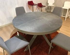 Tavolo rotondo con basamento centrale Tivoli cs/4100 Calligaris scontato
