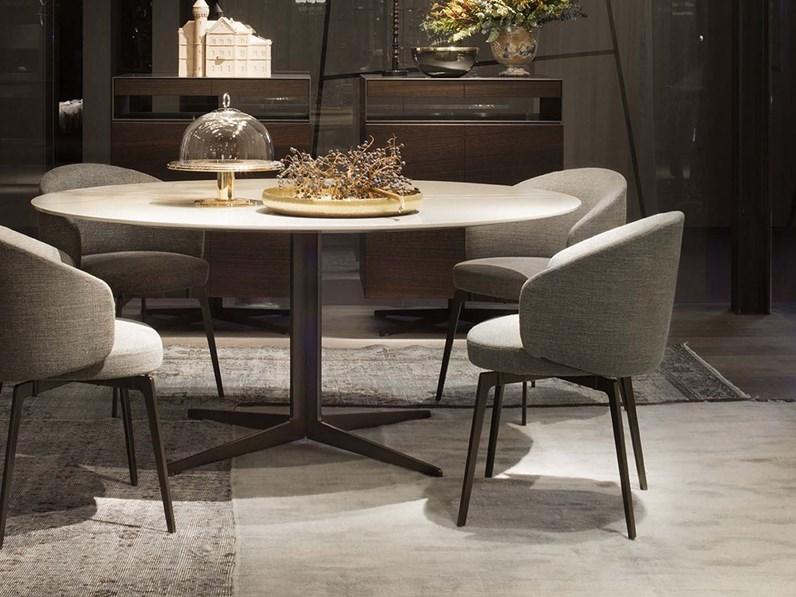 Tavolo rotondo graceland lema a prezzo scontato for La forma tavoli
