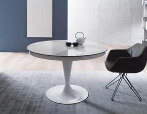 Tavolo rotondo in ceramica Sun Altacom in Offerta Outlet