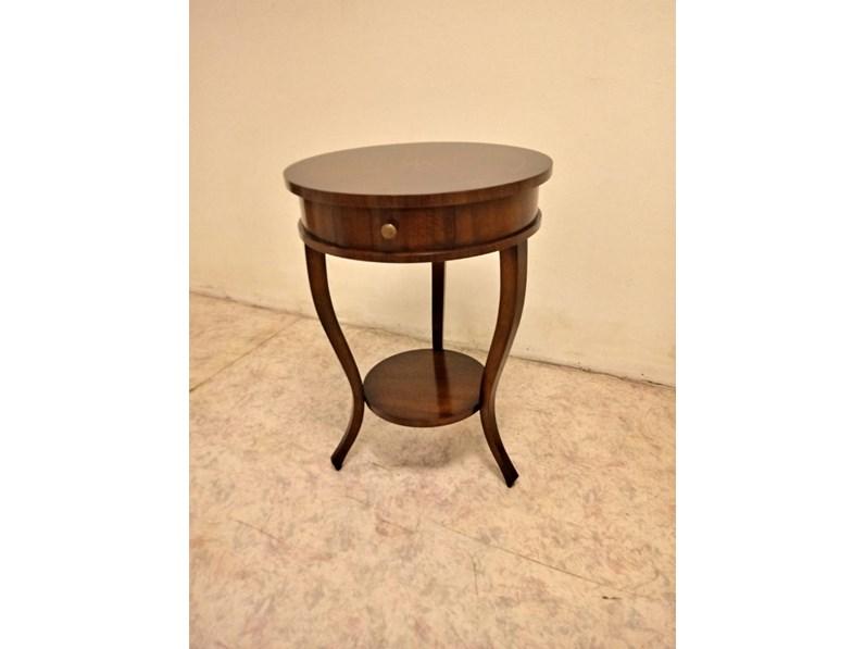 Tavolo rotondo in legno Artigianale in Offerta Outlet