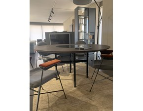 Tavolo rotondo in legno Glamour ring Bontempi casa in Offerta Outlet
