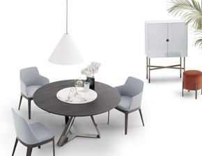Tavolo rotondo in legno Millenium ring 20.91 Bontempi casa in Offerta Outlet