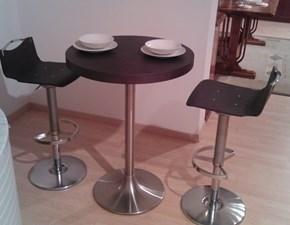 Tavolo rotondo in legno Rovere grigio Pozzoli in Offerta Outlet