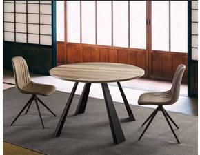 Tavolo rotondo in legno Saturn-ino La seggiola in Offerta Outlet