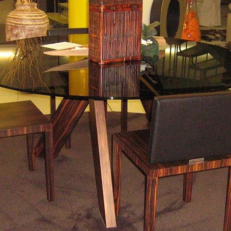 Tavolo rotondo vetro former tavoli a prezzi scontati for Tavolo rotondo vetro