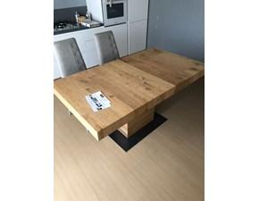 Tavolo Rovere Artigianale in legno Fisso