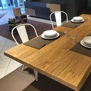 tavolo legno corteccia 1