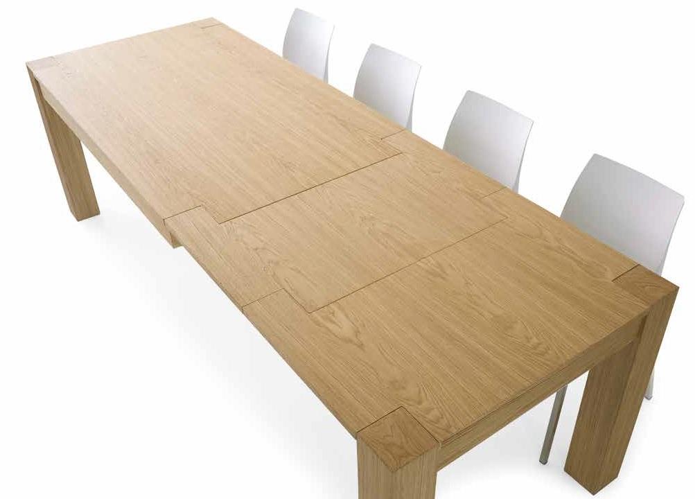 Tavolo rovere naturale doppia allunga tavoli a prezzi - Tavolo in rovere naturale ...
