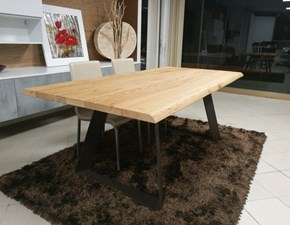 Tavolo Rovere old Zamagna in OFFERTA OUTLET