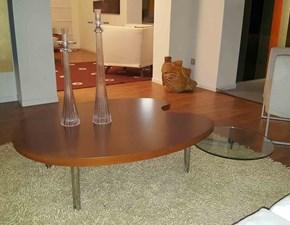 Tavolo sagomato a quattro gambe Lab Ciacci scontato