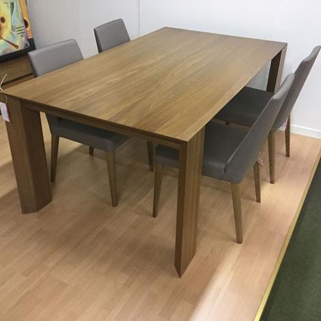 Tavolo santarossa folio con 4 sedie scontato del 50 tavoli a prezzi scontati - Santarossa mobili ...