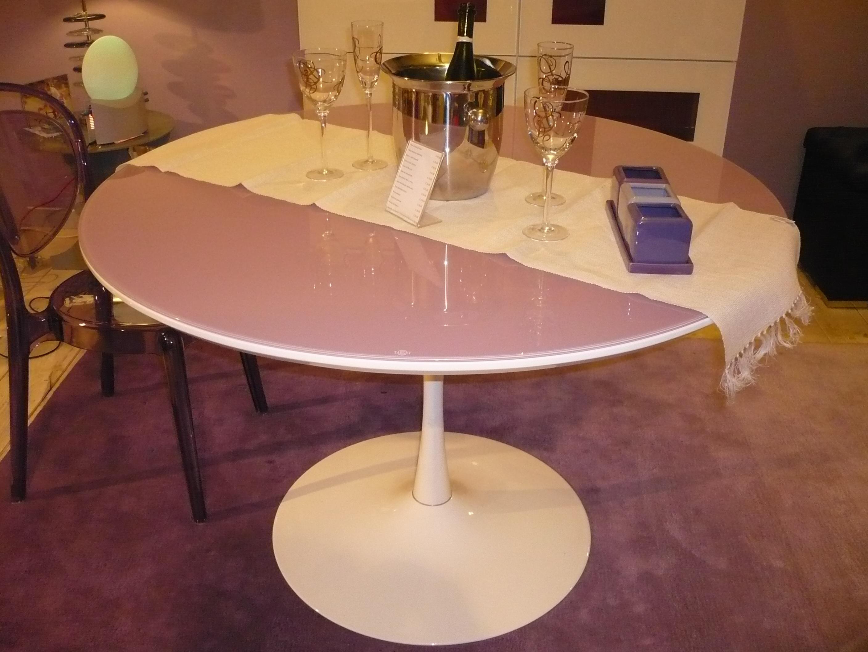 Tavolo scontato 15509 tavoli a prezzi scontati - Tavolo rotondo vetro diametro 120 ...