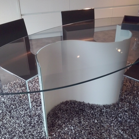 Tavolo ovale in vetro con sedie tavoli a prezzi scontati - Tavolo ovale in vetro ...