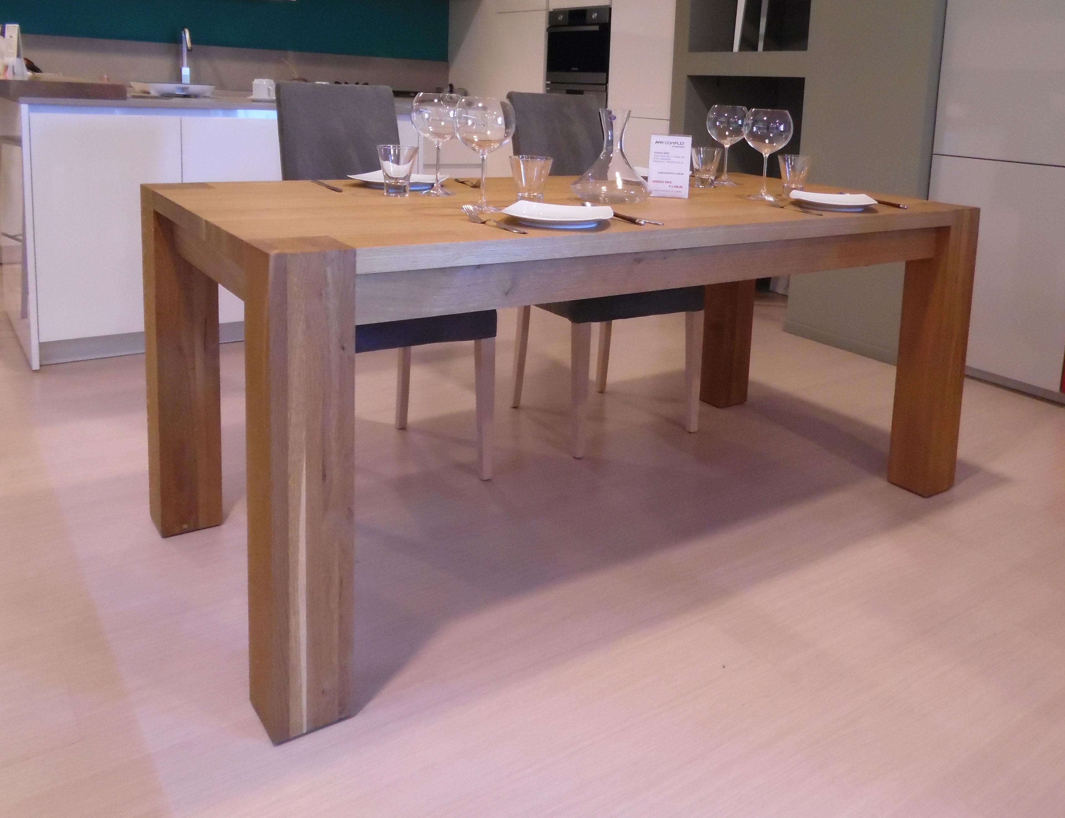 Tavolo sedit bio 180 x 90 rettangolari allungabili for Tavoli rettangolari allungabili in legno