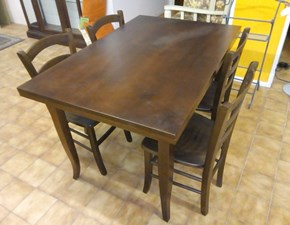 Tavolo Seme A.b.c in legno Rettangolare allungabile