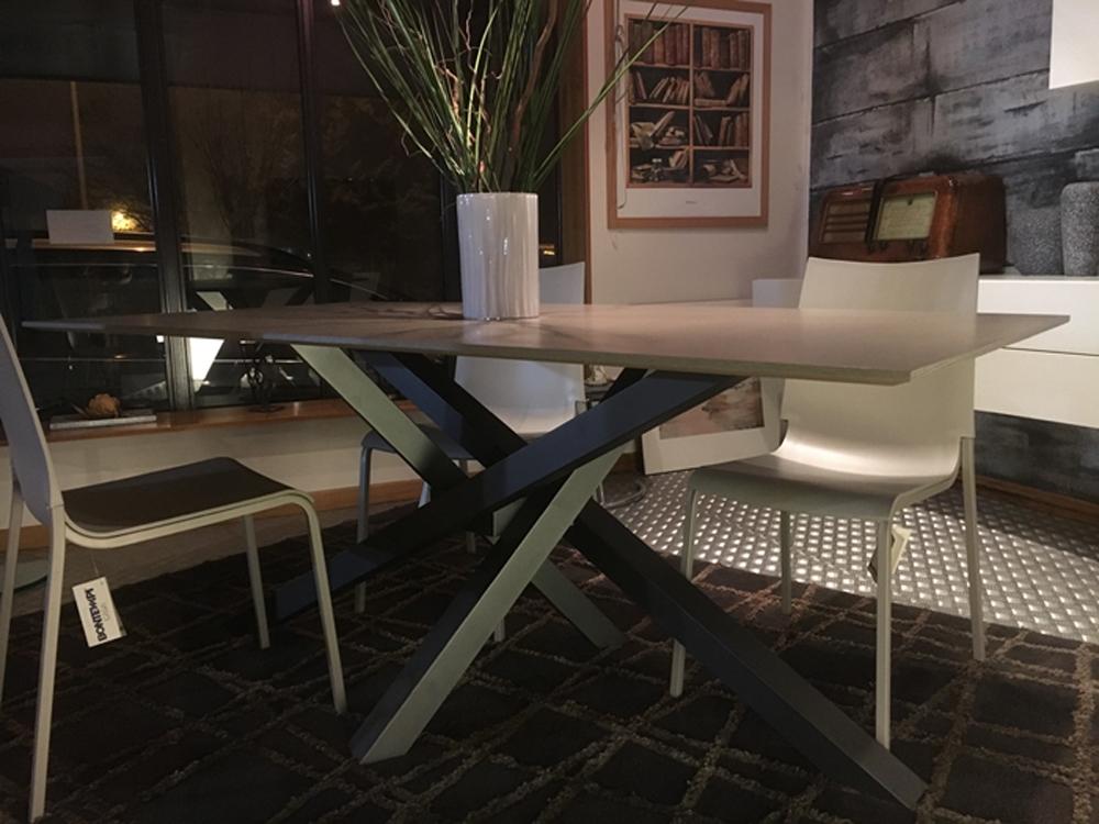Tavolo shangai di riflessi in vetro rettangolare tavoli - Tavolo riflessi prezzi ...